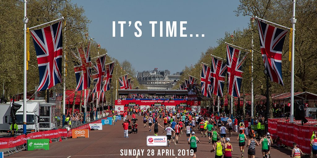 London Marathon 2019 Journey